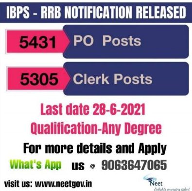 IBPS-RRB-Notification-2021-Apply