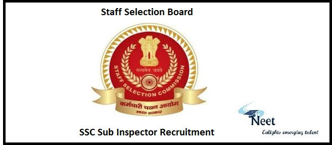 SSC SI Recruitment