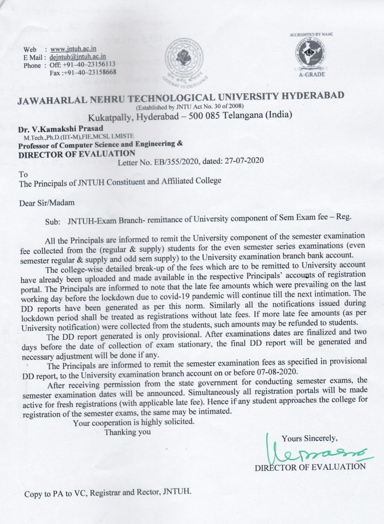 JNTUH-Exam-Branch-remittance-of-University-component-of-Sem-Exam-fee-Reg