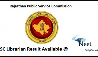 RPSC-Librarian-Result-download-2020