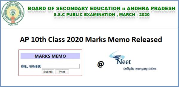 ap-ssc-marks-memos-2020-short-memo