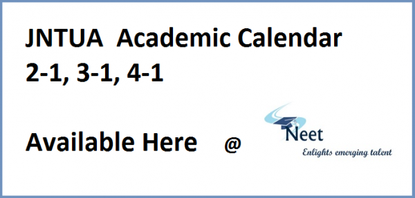 jntua-b.tech-b.pharm-academic-calendar-2020-21