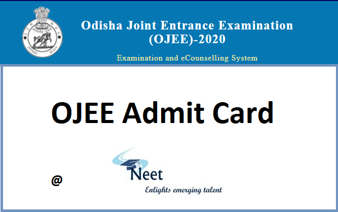 ojee-admit-card-2020