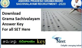 AP-Grama-Sachivalayam-Answer-Key-2020