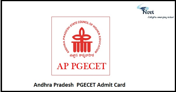 AP PGECET Admit Card