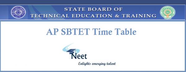 AP-SBTET-Time-Table
