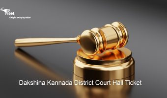 Dakshina Kannada District Court Hall Ticket