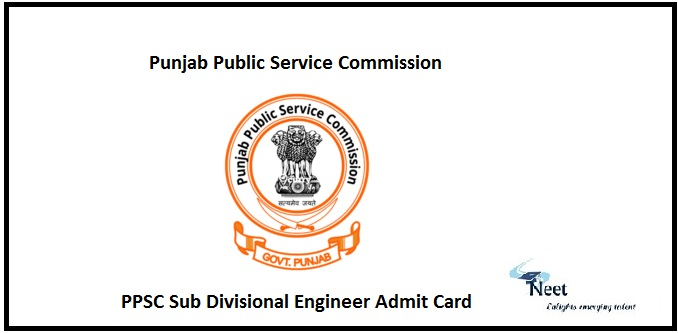 PPSC SDE Admit Card 2020