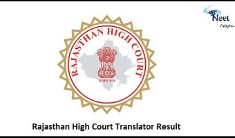 Rajasthan High Court Translator Result