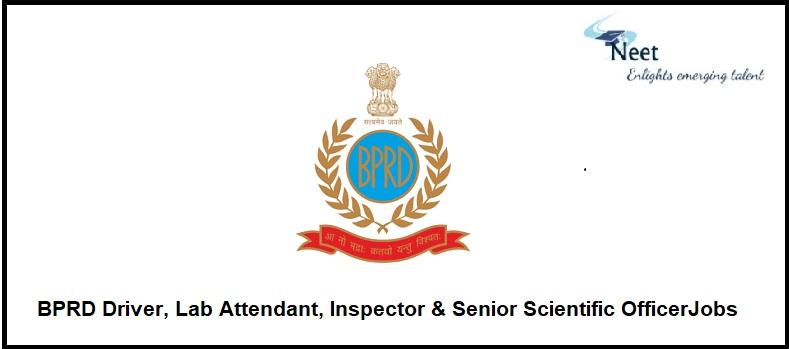 BPRD Jobs 2021