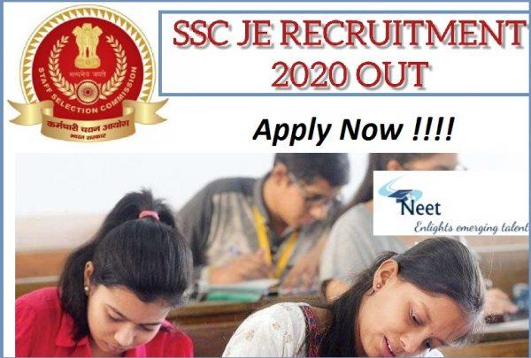 ssc-je-recruitment-2020
