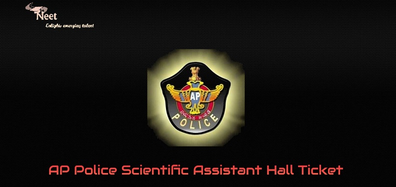AP Police Scientific Assistant Hall Ticket