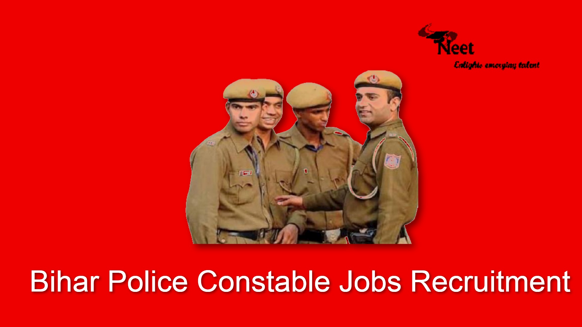 Bihar Police Constable jobs