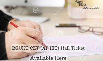 RGUKT CET Hall Ticket 2020
