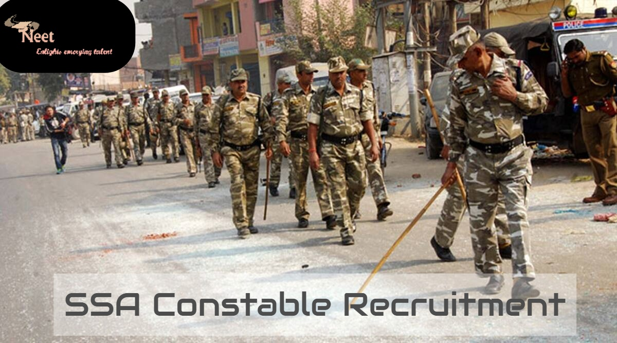 SSA Constable Recruitment 2020