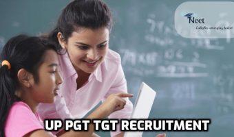 UP PGT TGT Recruitment