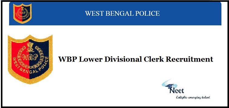 WBP LDC Recruitment 2020