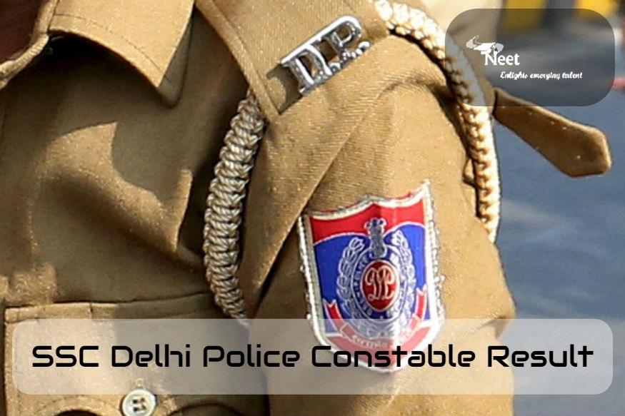 SSC delhi-police-constable resultle