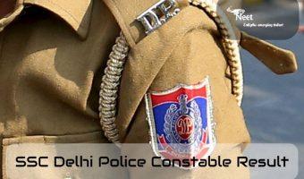 ssc delhi-police-constable result