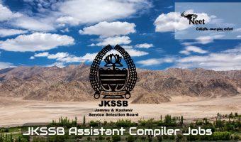 JKSSB Assistant Compiler Jobs 2020