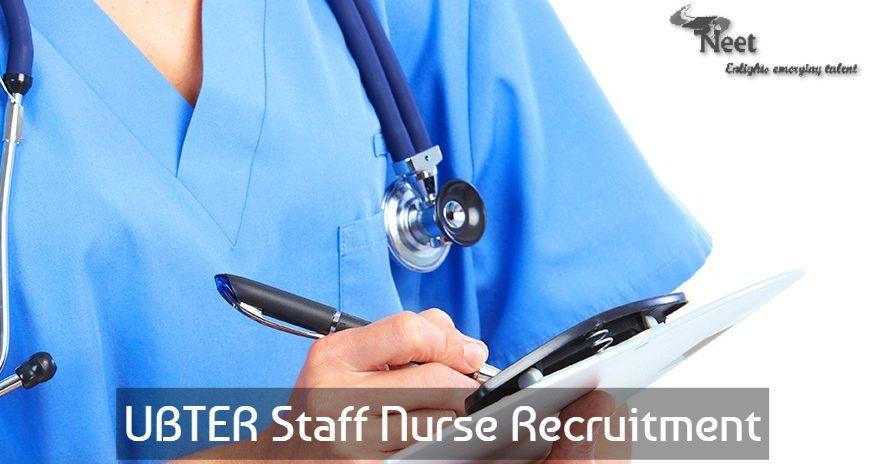 UBTER Recruitment 2020