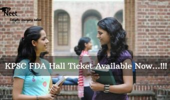 KPSC-FDA-Hall-ticket-2021