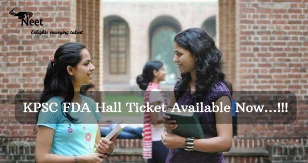 KPSC-FDA-Hall-ticket-2021