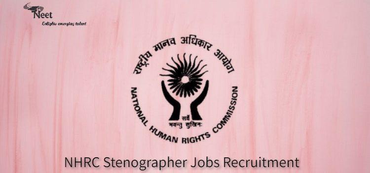 NHRC Stenographer Jobs 2021