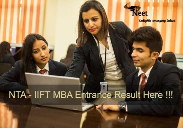 NTA-IIFT-Entrance-Result-MBA-2021
