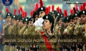 sainik-school-Admit-card-2021