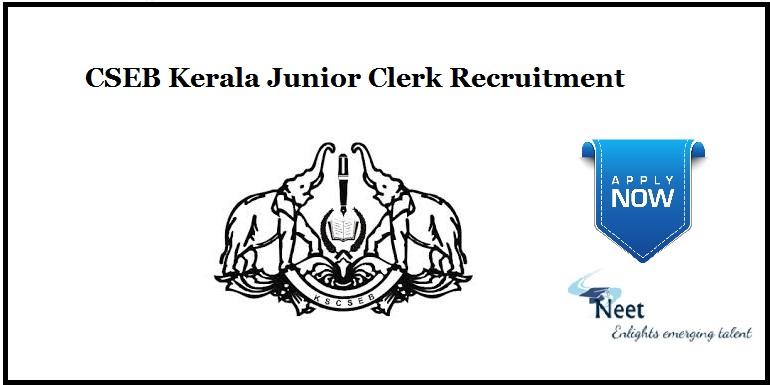 CSEB Kerala Recruitment 2021