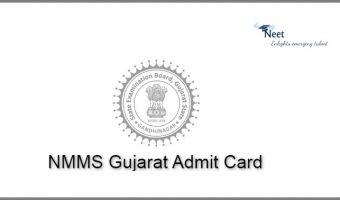 NMMS Gujarat Admit Card 2021