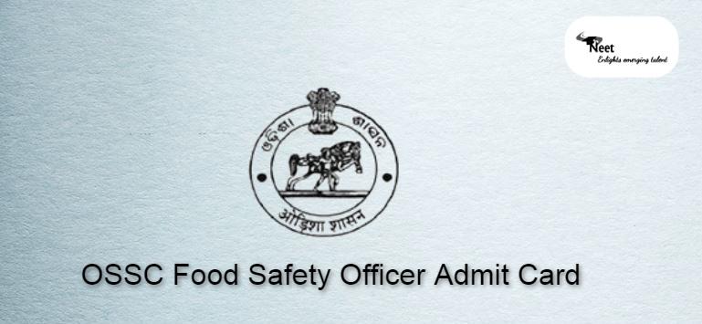 OSSC FSO Admit Card 2021