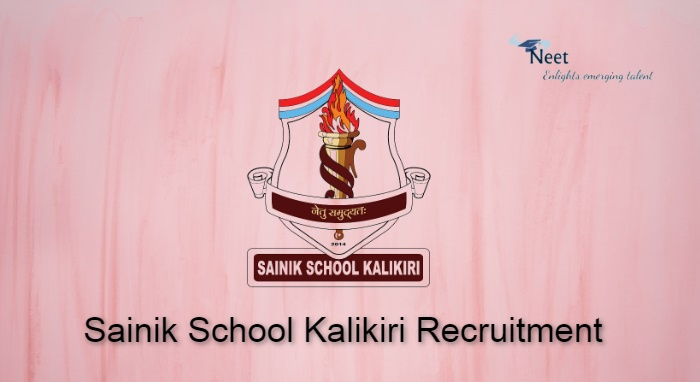 Sainik School Kalikiri Recruitment 2021