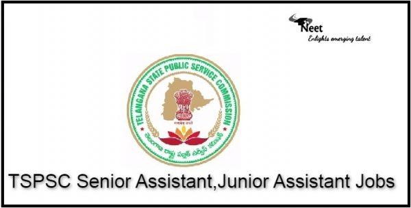 TSPSC Senior Assistant, Junior Assistant Jobs 2021