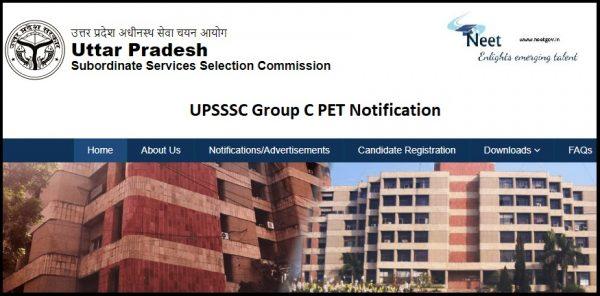 UPSSSC PET Notification 2021