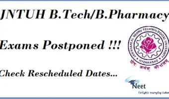 JNTUH-BTech-BPharmacy-Exams-Postponed
