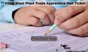 Vizag-Steel-Plant-Trade-Apprentice-Hall-Ticket-2021